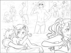 LH: Beach by zulenha on DeviantArt Hetalia Australia, Latin Hetalia, Hetalia Axis Powers, American Country, Manga, Latin America, Yandere, Latina, Brazil