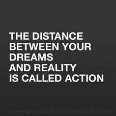 Are YOU taking ACTION?
