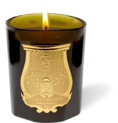This Cire Trudon scented candle, in a hand-blown green glass case, is inspired…