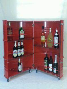 Design Bar Stehtisch 200l Fass Minibar Partykeller Möbel Industrie Bier Schnaps in Möbel & Wohnen, Möbel, Regale & Aufbewahrung   eBay