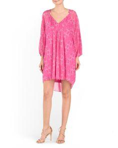 Silk Fleurette Dress