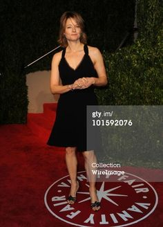 Jodie Foster arrives at the 2010 Vanity Fair Oscar Party hosted by Graydon Carter held at Sunset Tower on March 7, 2010 in West Hollywood