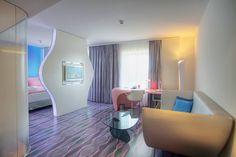 blue Junior Suite at Music & Lifestyle Hotel nhow Berlin