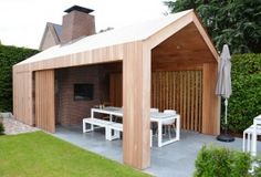 Bijgebouw SL Shed Design, Garden Design, Outdoor Rooms, Outdoor Living, Garden Cabins, Pavillion, House Cladding, Garden Workshops, Garden Pavilion