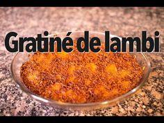 (119) Gratiné de lambi - YouTube The Creator, Food, Gratin, Eten, Meals, Diet