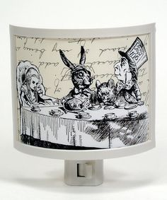 Another great find on #zulily! Mad Tea Party Night-Light #zulilyfinds