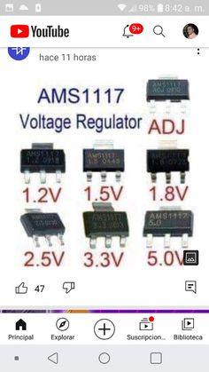 Electronics Basics, Electronics Projects, Circuit Design, Voltage Regulator, Radios, Youtube, Diagram, Facts, Technology