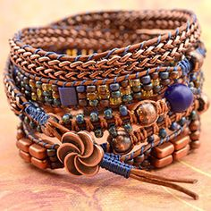 Color Study- Copper Head – Beadshop.com