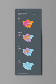 Can you afford to live in London? Infographic on Behance
