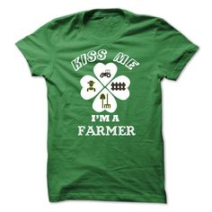 "Farmer - Happy Saint Patrick Day - Not available in Stores! 100% Made in USA! Ship Worldwide. Select your style then click ""buy it now"" to order! (Farmer Tshirts)"