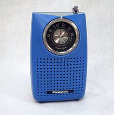 Transistor radio.  Fell asleep with mine under my pillow every night...in harvest gold!