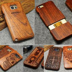 Wood Case For Samsung Galaxy Edge Plus Note 7 5 4 3 Cases For Apple iPhone SE 5 6 7 Plus Back Cover Fundas Capa. Fit for Apple iPhone SE 5 6 7 Plus. Made of Rosewood solid wood and Plastic. Samsung Galaxy S5, Galaxy S8, Galaxy Nexus, Hard Phone Cases, Diy Phone Case, Iphone Cases, Buy Iphone, Iphone Phone, Phone Wallet