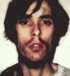 Richard Trenton Chase (May 23, 1950 – December 26, 1980) was an American serial killer who killed six people in the span of a month in California. He earned the nickname The Vampire of Sacramento due to his drinking of his victims' blood and his cannibalism. He did this as part of a delusion that he needed to prevent Nazis from turning his blood into powder via poison they had planted beneath his soap dish.