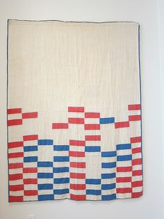 "Asymmetrical Strip Quilt from ""Bold Expressions—African American Quilts at the Mingei Museum"""