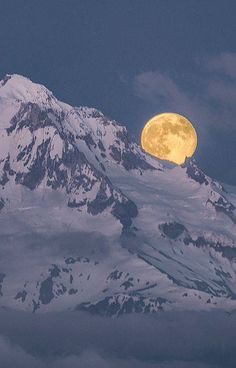 full moon over the mountains. Nothing more beautiful than the mountains and a full moon. All Nature, Amazing Nature, Beautiful Moon, Beautiful World, Cool Photos, Beautiful Pictures, Amazing Photos, Shoot The Moon, Moon Pictures