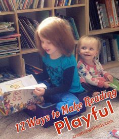 Make Reading Interactive - Fun ways to bring books to life with your kids