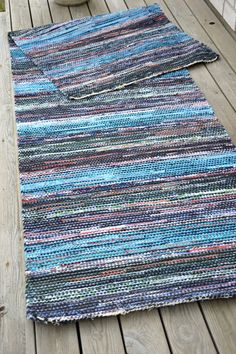 Cotton Rugs, Rag Rugs, Rug Making, Scandinavian Style, Tapestries, Color Inspiration, Carpets, Tatting, Pattern Design
