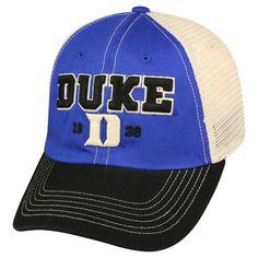 NCAA Duke Blue Devils Respect Baseball Hats