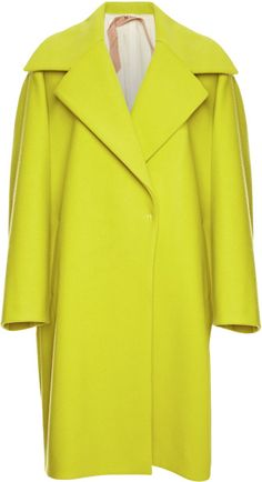 Love this: Cesira Chartreuse Coat @Lyst