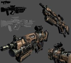 ArtStation - Gun 01, Paul Harvey Save those thumbs & bucks w/ free shipping on this magloader I purchased mine http://www.amazon.com/shops/raeind  No more leaving the last round out because it is too hard to get in. And you will load them faster and easier, to maximize your shooting enjoyment.  loader does it all easily, painlessly, and perfectly reliably