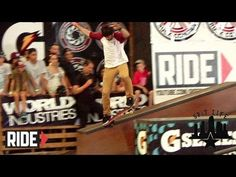 Chris Cole destroys the park during Tampa Pro 2012 Semi-Finals and Finals!
