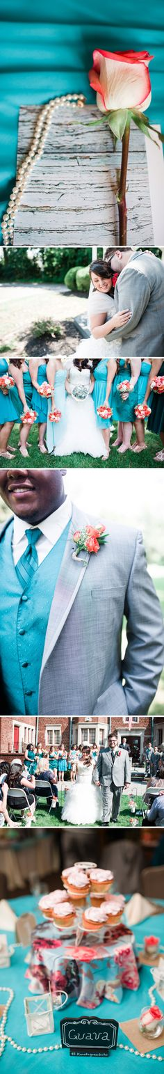 Moorestown Community House Wedding // Teal Wedding Inspiration // alison dunn photography