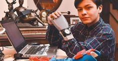 Leonardo Viscarra, el niño boliviano que fabricó su propia mano robótica