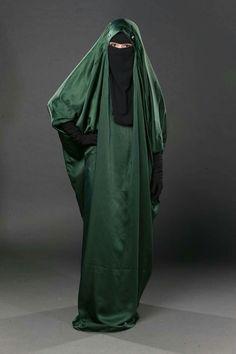 niqab schwarz dick
