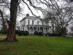 Photograph of the farm in Spring Hill, TN, where Confederate Gen. Richard S. Ewell retired after the war. Photo date December 2009   National Register of Historic Places in Maury County, Tennessee