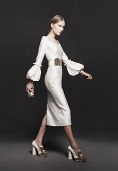 Alexander McQueen Fall 2013 Sheath Dress