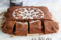 Rotweinkuchen-Brownie