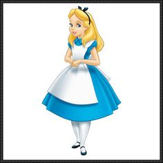 Disney: Alice In Wonderland - Alice Free Doll Papercraft Download
