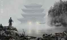 The plan of Sanada, Asia legends#12 by David Benzal | Illustration | 2D | CGSociety