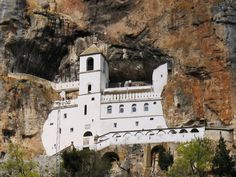 monastery of Ostrog, Monte Negro Tivat Montenegro, Montenegro Travel, Places To Travel, Places To Go, Republic Of Macedonia, Sailing Trips, Serbian, Travel Bugs, Croatia