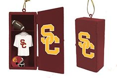USC Trojans Tree Ornaments