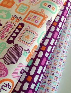 Moxie fabric bundle by Erin McMorris for Free by fabricshoppe, $8.25