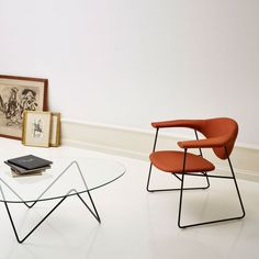 Gubi // Masculo Lounge Chair and Pedrera Table