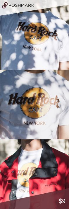 Hard Rock Cafe T-Shirt, New York addition Made in the U.S.A. New York Edition, Size men's Medium Hard Rock Cafe  Tops Tees - Short Sleeve
