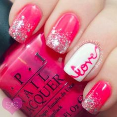14 Cute Valentines Day Nail Art Ideas for Teens Tap the link now to find the hottest products for Better Beauty!