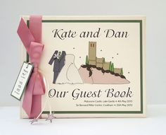 Malcesine Castle £45 The timeless castle that overlooks Lake Garda in Italy. Can be made in any colour scheme, outfit colours can be changed, groom can be in a kilt.