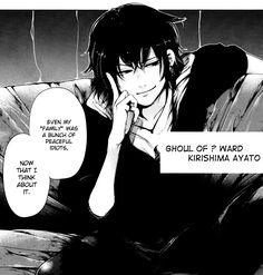 Tokyo Ghoul (東京喰種) manga - Vol 6, Ch.50:Banjou. God damn Ayato ur only 15 ur not allowed to be this hot