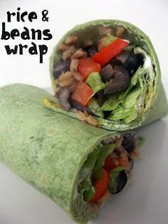 Spicy Rice and Bean Wraps / Six Sisters' Stuff | Six Sisters' Stuff