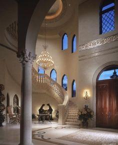 Beautiful entrance to a beautiful home.