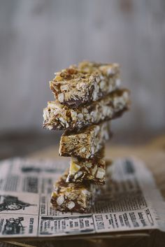 Delightfully Tacky: easy healthy granola bars