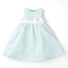 Newborn Lace Dress with waist Bow and Panty