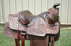 Beautiful Sloan Saddle restored with leather products from Preservation Solutions
