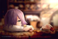 Kirishima Touka || Fiquei tão triste quando o Kaneki saiu da Anteiku e deixou a Touka sozinha