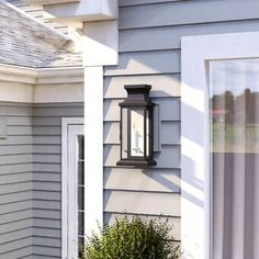 Watertown 2-Light Outdoor Wall Lantern & Reviews | Birch Lane Outdoor Hanging Lanterns, Outdoor Sconces, Outdoor Light Fixtures, Outdoor Wall Lantern, Outdoor Wall Lighting, Exterior Lighting, Outdoor Walls, Classic Lanterns, Porch Wall