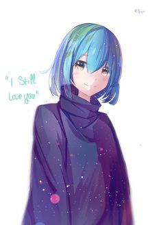 Earth-chan by transinh.deviantart.com on @DeviantArt