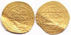 Gold Dinar RRRR Qarakhanid Western Qaghanate Samarqand, 588AH, Sultan Ibrahim b. Husayn